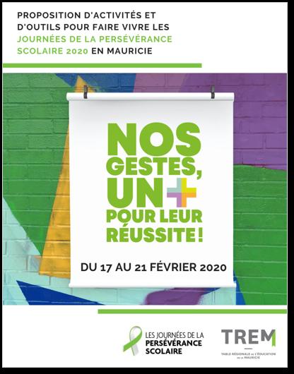 JPS2020 : Proposition d'activités et d'outils pour faire vivre les JPS en Mauricie